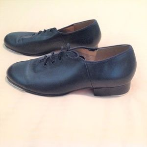 Bloch Black Tap Shoes Leather Men's Techno Tap #01